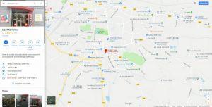 visite virtuelle showroom magasin fiche google map