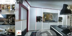 visite virtuelle showroom magasin google street view