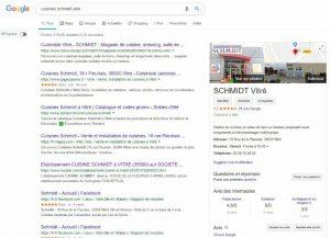 visite virtuelle showroom magasin resultats google