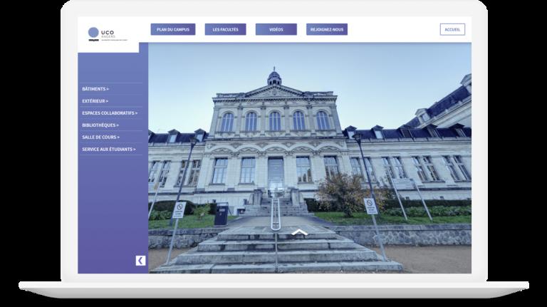 visite virtuelle université